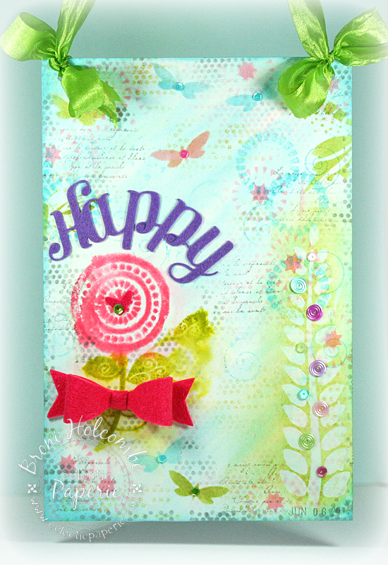 EP Happy Wall Hanging