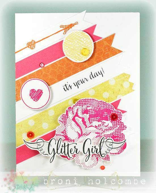 CTD308 Glitter Girl