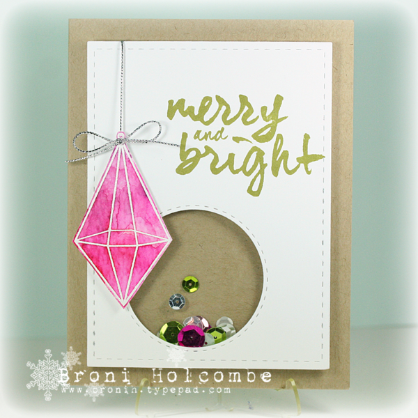 121714 CTD323 Pink Christmas Jewel