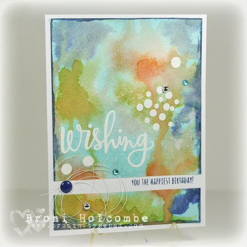 CTD328 Wishing in Watercolor