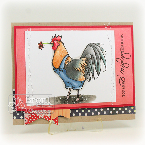 061215 ADFD Rooster with Flower