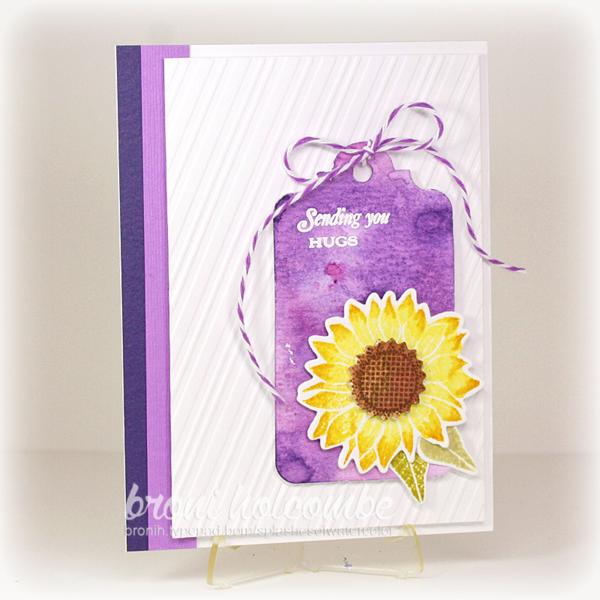 072915 CTD353 Simple Sunflower Hugs