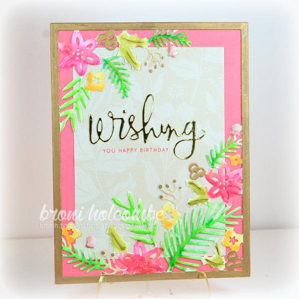 110415 CTD366 Winter Floral Wish