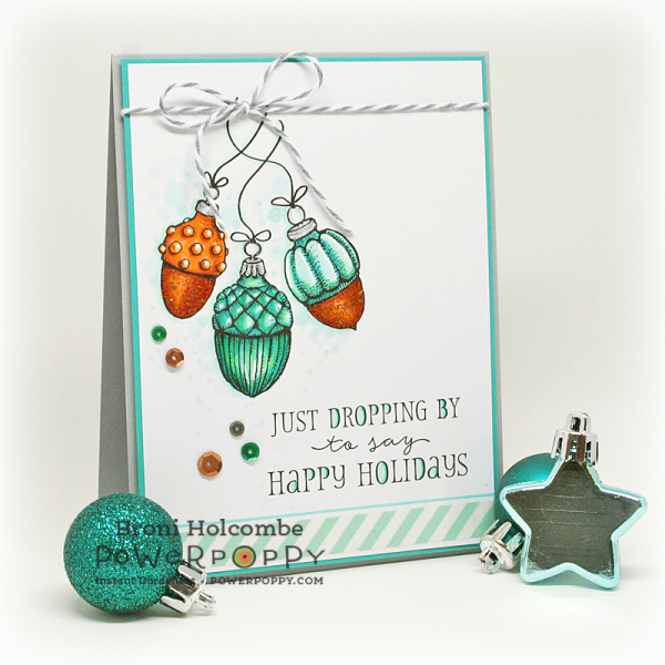 110916 CTD418 Acorn Ornaments close