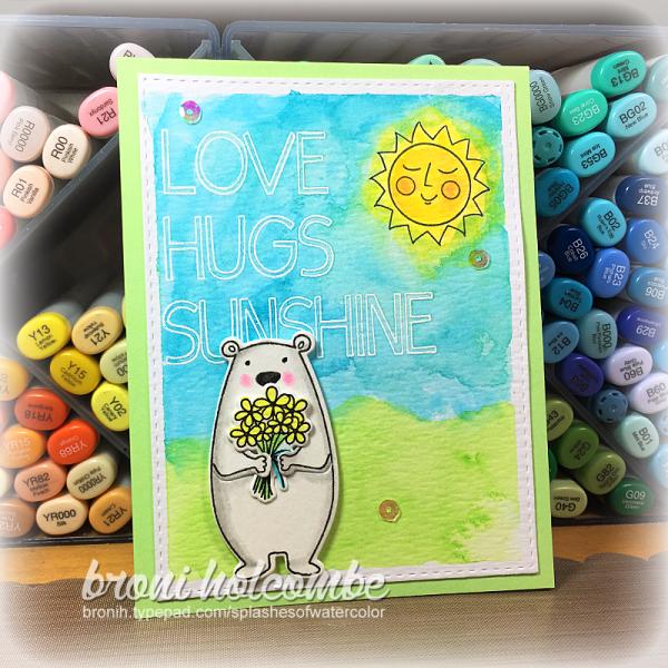 051717 CTD443 Love Hugs Sunshine