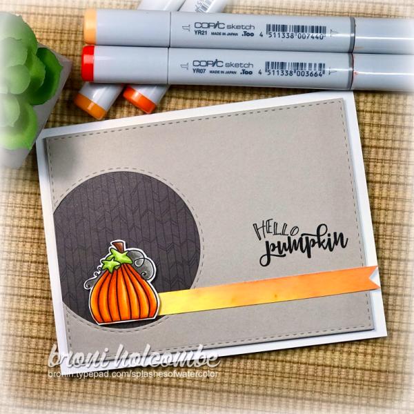 101117 CTD464 Hello Pumpkin