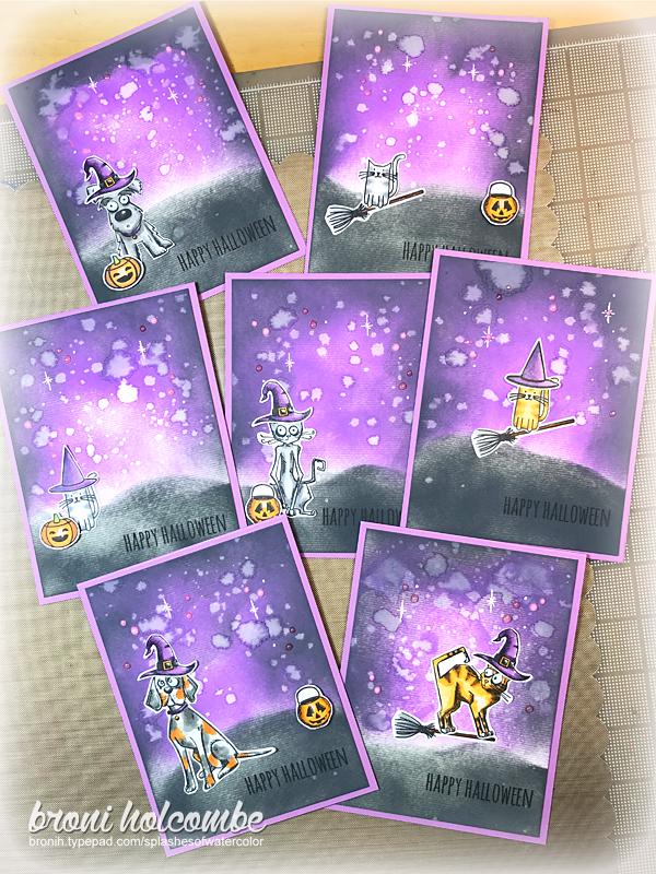 2017 Halloween cards
