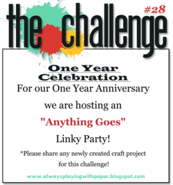 Anything Goes  The Challenge #28-March 30th