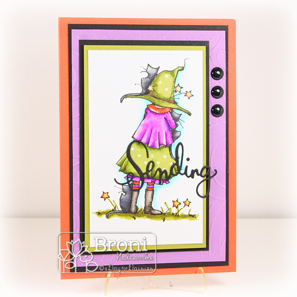 100215 ADFD Little Witch Waiting card