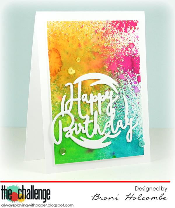 041116 TC68 Happy Birthday Colors