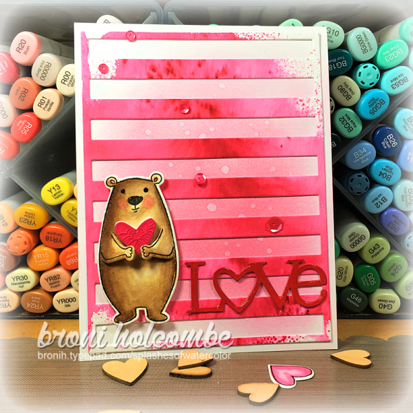 020117 CTD428 LOVE Bear