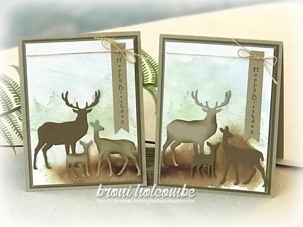 112118 CTD520 2 Deer Family cards