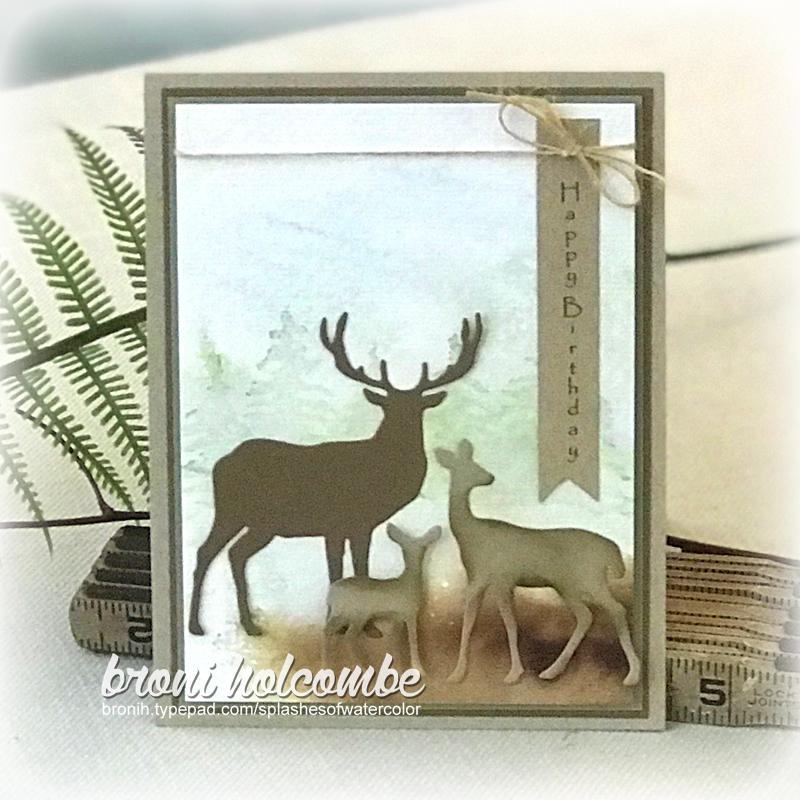 112118 CTD520 Deer Family Birthday