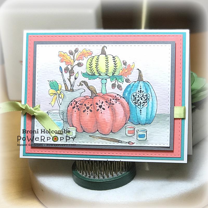 101518 PP Painting Pumpkins