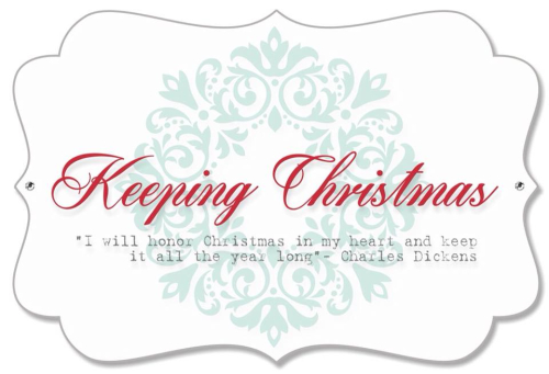 Keeping Christmas graphic
