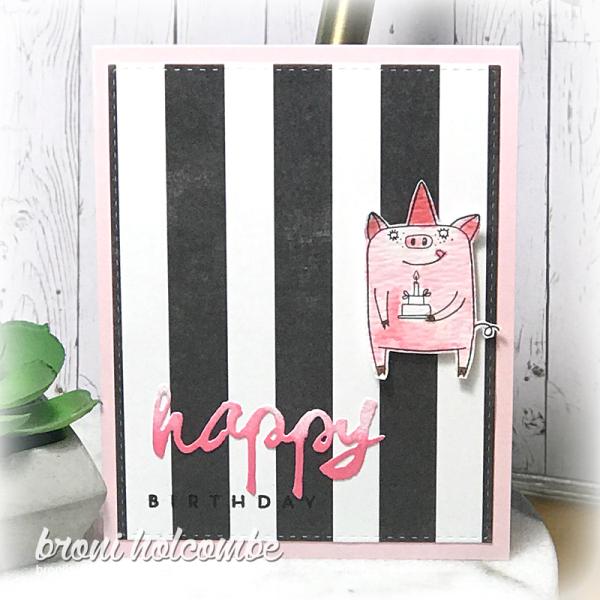 050119 CTD541 Birthday Pig