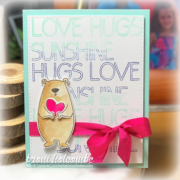 012220 CTD577 Love Hugs Sunshine