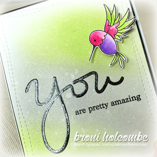 021920 CTD581 You Are Pretty Amazing 2