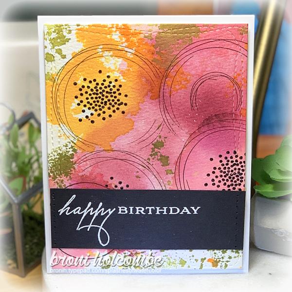 070820 CTD601 Watercolor Birthday