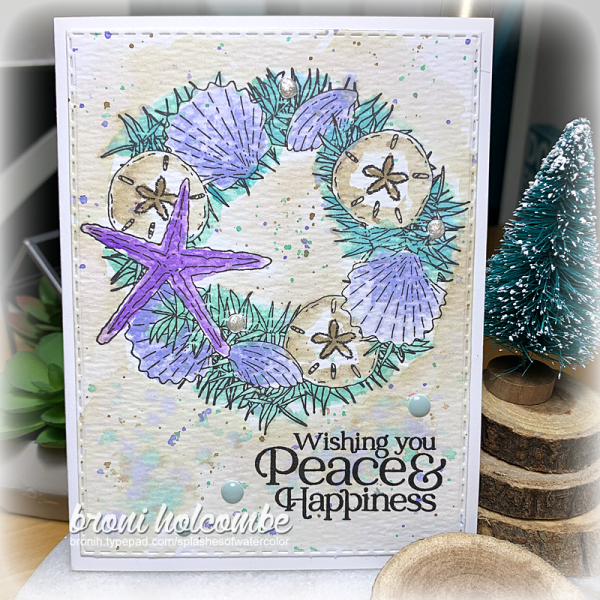 111820 CTD620 Shell Wreath