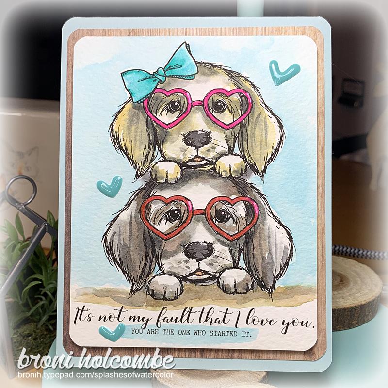 021421 Love Puppies Valentine